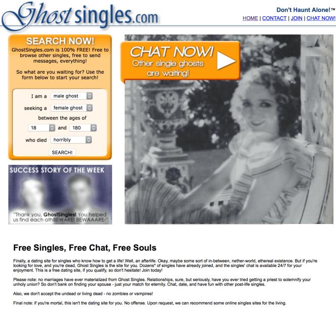 Ghost Singles