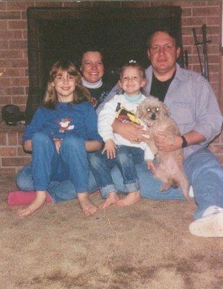 Me, Mom, Magan, Wolfy, and Dad