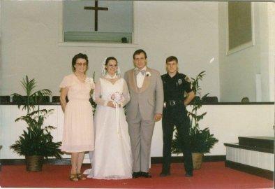 Nanny, Mom, Dad, and Uncle Rick