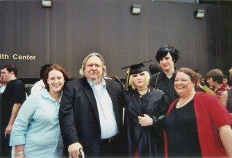 Magan's high school graduation